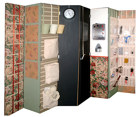 Crafty room divider screen Cindy Dyers Blog