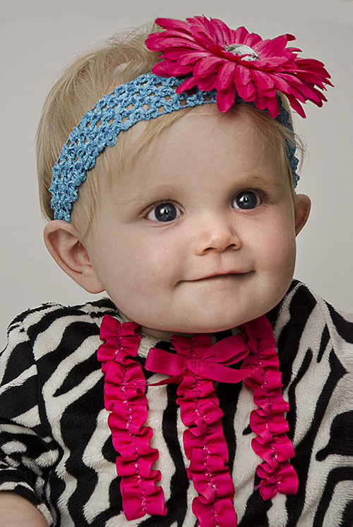 Payton in Zebra Outfit